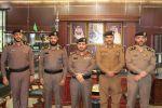 مدير شرطة منطقة الجوف يقلّد عدداً من الضباط رتبهم الجديدة