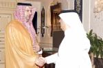 الرئيس العام استقبل رئيس هيئة الإذاعة والتلفزيون والأمين العام لمجلس التعاون