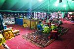الخيمة التراثية تستقبل زوارها برائحة أجدادنا بمهرجان الطيور الدولي بالقريات