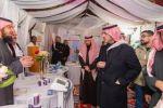أمير منطقة الجوف يزور مهرجان القريات الدولي للطيور