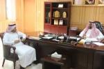 الثبيتي يلتقي عميد عمادة الاعتماد الاكاديمي بجامعة الجوف