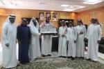 الثبيتي يكرم طلاب متوسطة الإمام محمد بن سعود الحاصلين على بطولة اختراق الضاحية