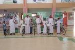 ابتدائية علي بن ابي طالب تكرم الفائزين في مسابقة اللغة العربية