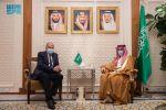 وزير الخارجية يبحث الأوضاع على الساحتين العربية والدولية مع أبو الغيط