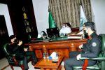 محافظ القريات يلتقي مدير الإدارة العامة لدوريات الأمن بالمملكة