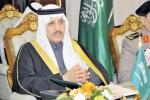 الأمير أحمد بن عبدالعزيز يستقبل الشيخ جوعان بن حمد آل ثاني والشيخ خليفة بن حمد آل ثاني
