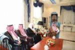 أمير الجوف استقبل رئيس وأعضاء وفد مجلس الشورى
