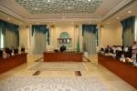 أمير الجوف رأس جلسة مجلس المنطقة واستعرض احتياجات المنطقة لأهم المشاريع