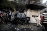 انفجارات تضرب سيارات لحماس والجهاد الاسلامي في غزة