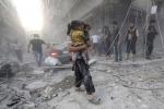 نشطاء: مقتل 80 على الأقل في ضربات جوية قرب دمشق