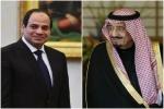 خادم الحرمين الشريفين يعزي فخامة الرئيس المصري في وفاة والدته