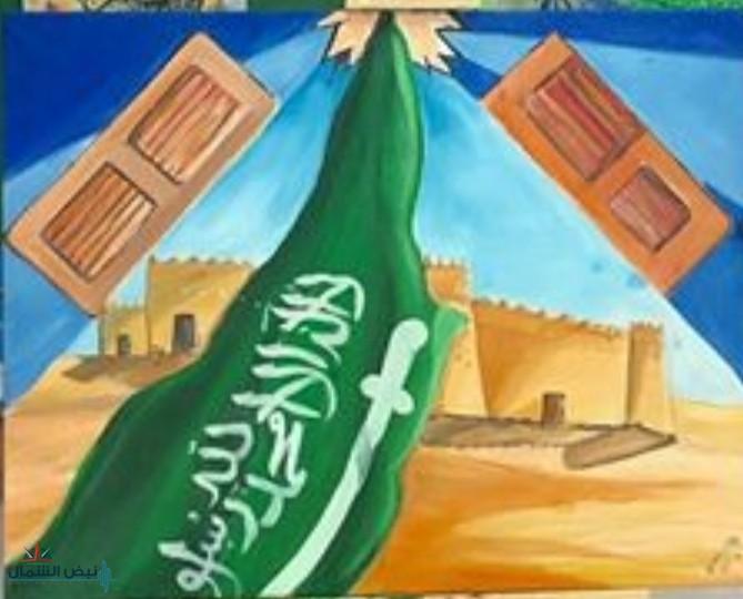 بريشة الفنان التشكيلي هادي ضاحي