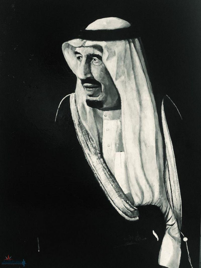 بريشة الفنان التشكيلي عبدالله الاسيد