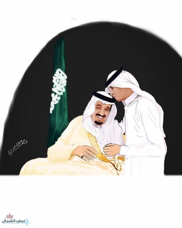 بريشة الفنان التشكيلي عبدالاله عبد الرحمن